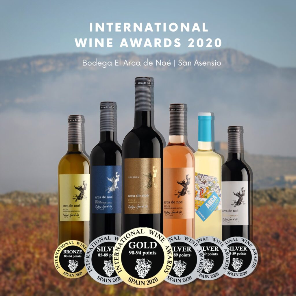 Bodega Arca de Noe Premios International wine awards