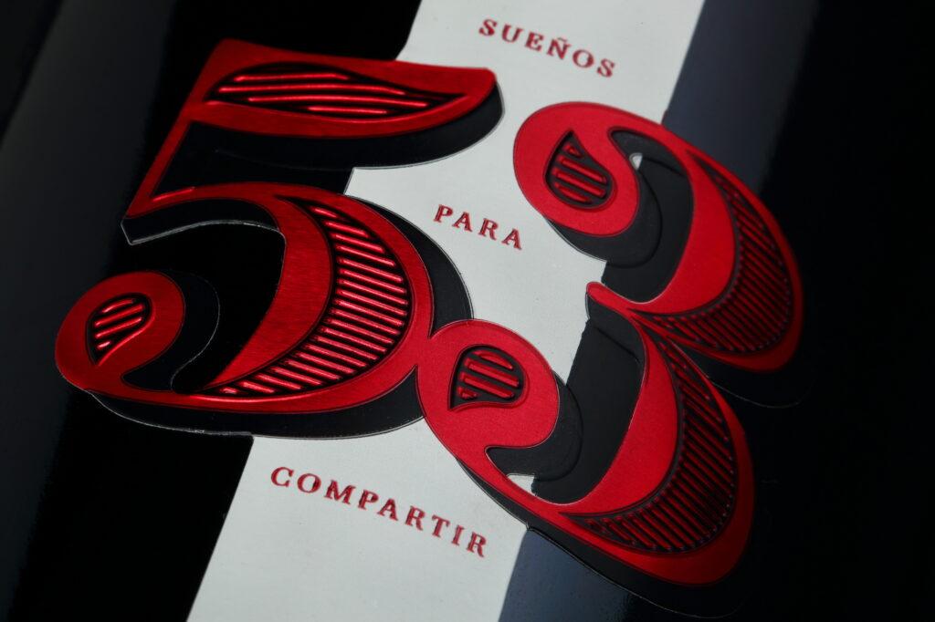 Etiqueta vino ARCA 53